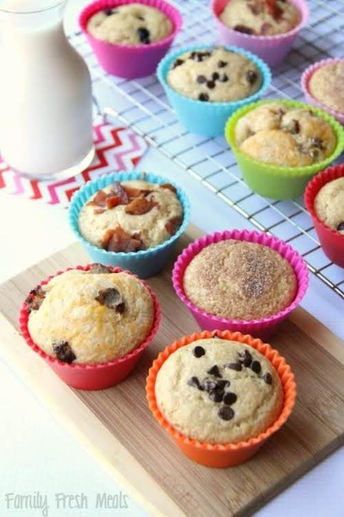 "Easy Baked Pancake Muffins ""Baked pancake muffins are a super fun way..."