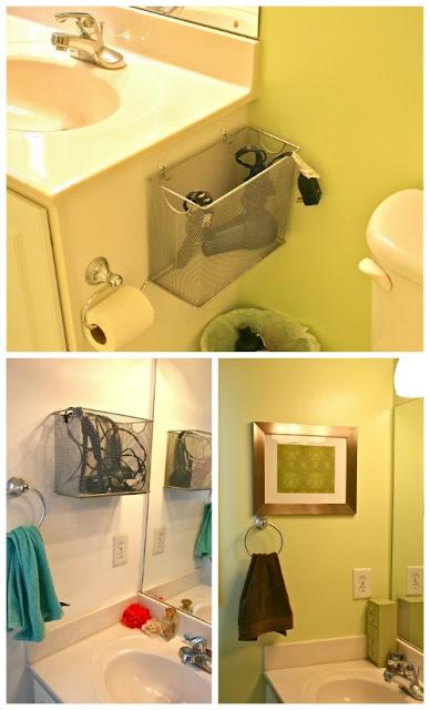 M s y m s manualidades incre bles ideas para organizar tu for Cuelga toallas bano