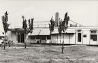 Nieuw Balinge. Dorpshuis met Postkantoor en PTT Spaarbank. Ongelopen.