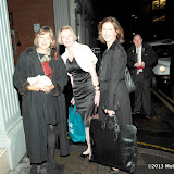 WWW.ENTSIMAGES.COM -   Jenny Agutter, Wendy Holden and Katie Derham arriving at  Costa Book of The Year Award 2012 at Quaglino's Bury Street London January 29th 2013                                                         Photo Mobis Photos/OIC 0203 174 1069