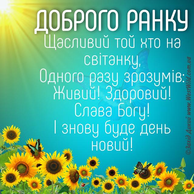 Доброго ранку гарного дня літо