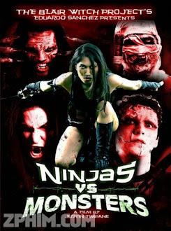 Ninja Đại Chiến Quái Vật - Ninjas vs. Monsters (2013) Poster