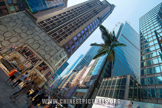 Central Hong Kong Street Photo