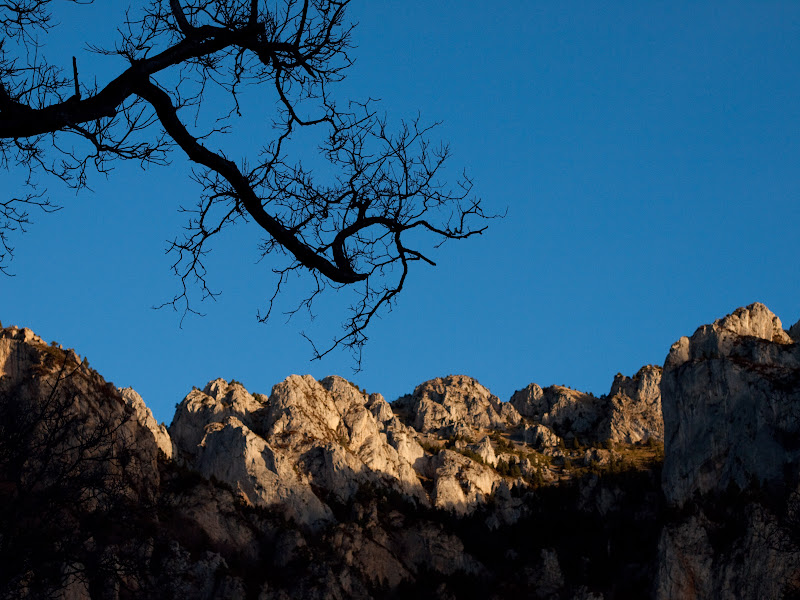 Les Muntanyetes, vistes des de l'Hospitalet de Roca Sança