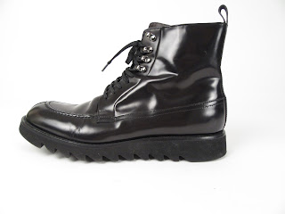 Kenneth Cole Collection Patent Leather Boots