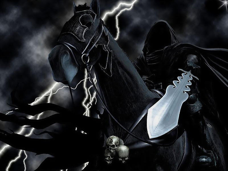 Black Lord On Horse, Ghosts