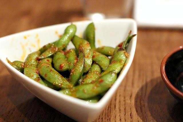 Nobu Dubai spicy edamame