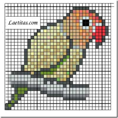 punto de cruz animales aves  (4)