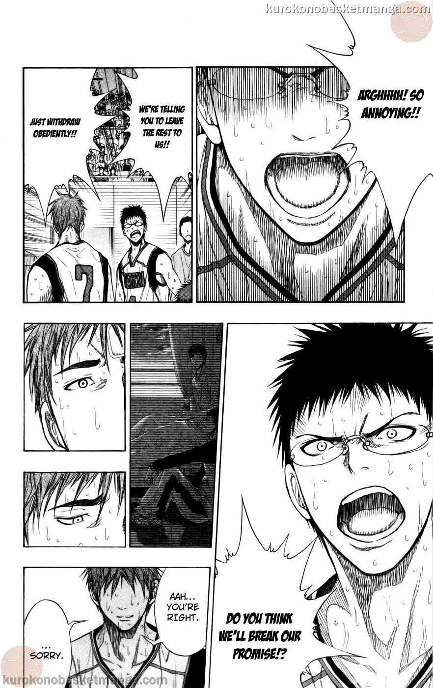Kuroko no Basket Manga Chapter 105 - Image 20