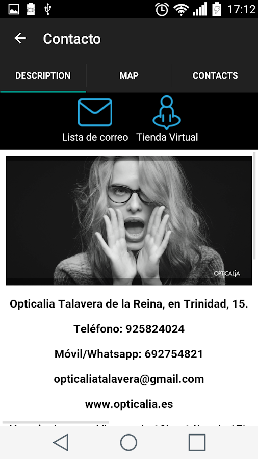 Opticalia Talavera- screenshot