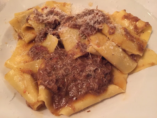 Pappardelle with beef shin ragu