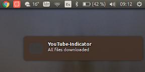 Nueva actualización de YouTube-Indicator - ejemplo 5