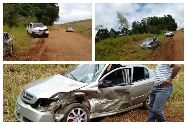Motorista tem ferimentos leves após acidente na PR-239
