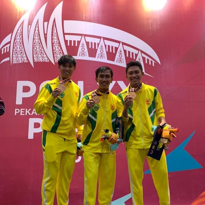 Anggota Brimob Kaltim Sumbang Medali Untuk Kaltim Di PON XX/Papua