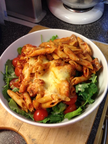 Vicki Kitchen Italian Chicken Pasta Bake Slimming World Friendly