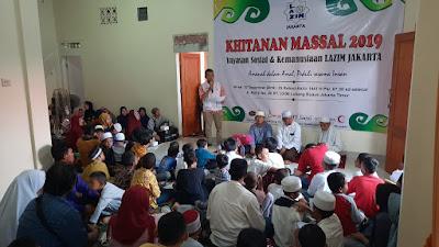 Yayasan Sosial dan Kemanusiaan Lazim Jakarta Gelar Khitanan Massal Gratis