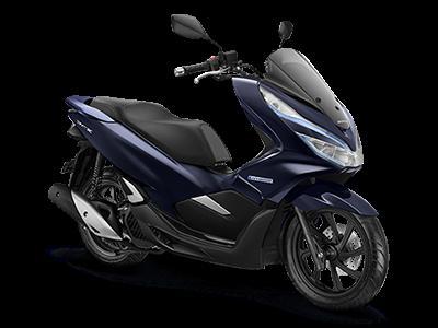 Honda PCX Hybrid Warna Blue