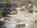 הכנסיה הביזנטית, מבט מערבה מראש האפסיס