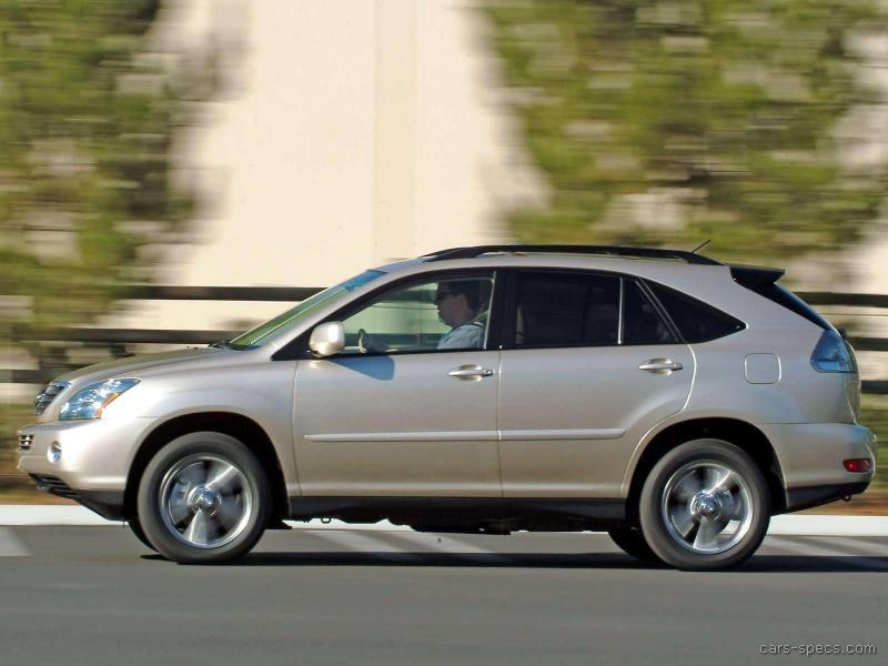 2007 lexus rx 400h suv specifications pictures prices. Black Bedroom Furniture Sets. Home Design Ideas