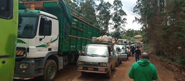 Bamenda-Matazem road: Thousands of passengers stranded