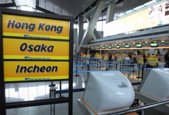 ニノイ・アキノ国際空港(マニラ)のセブパシフィック