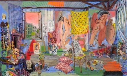 Picasso's Studio - Bateau Lavoir, 1908