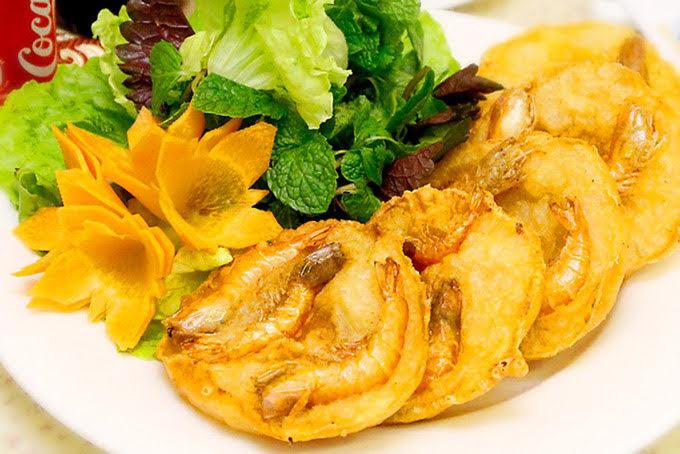 Bánh tôm hồ tây - đặc sản hà nội