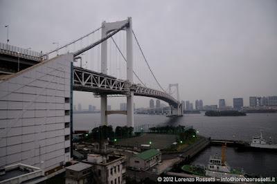 La zona portuale di Odaiba