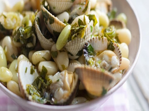 Bean and Mussel Salad