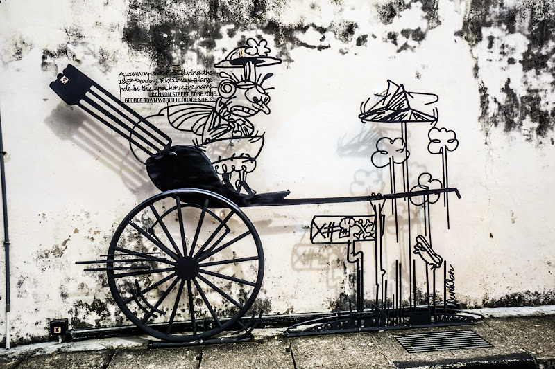 Penang George Town Street Art Wired art2