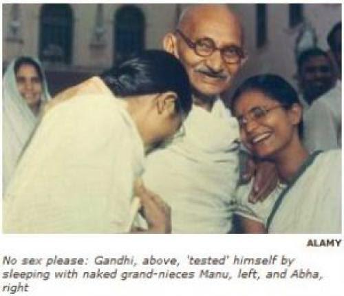 Mahatma Gandhi A Pedophile And Nazi