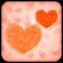 Fluffy Hearts Live Wallpaper