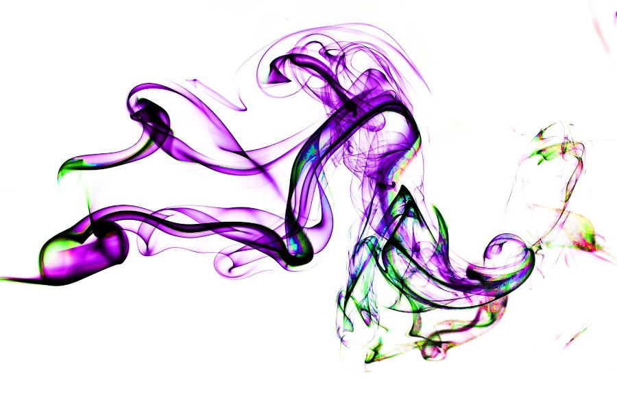 smoke dragon by Hamish Hamilton - Abstract Patterns ( cool, colour, invert, pattern, smoke )
