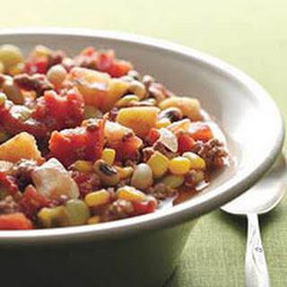 Southwestern-Style Succotash Chili