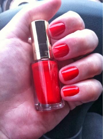 esmalte, unha, vermelho, 408, L'Oreal