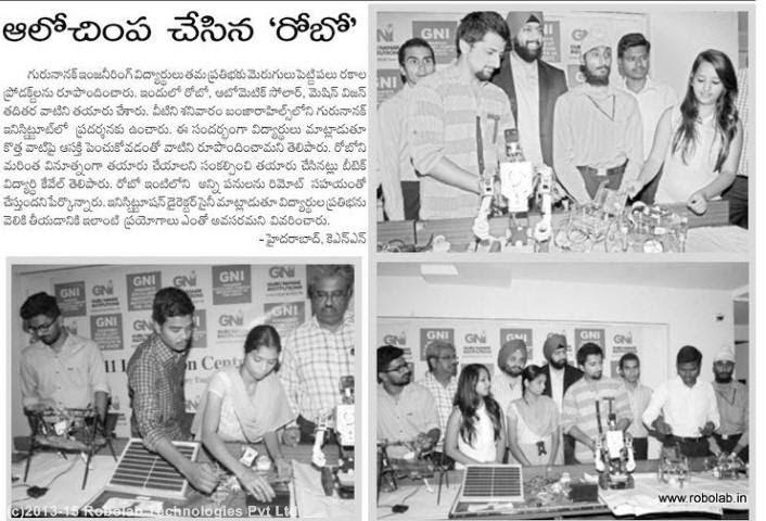 Guru Nanak Institutions Hyderabad, Robolab News(75).jpg