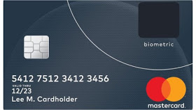 MasterCard with fingerprint scanner