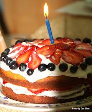 Photo: (Year 3) Day 27 - Vals Birthday Cake, Baked by Tim