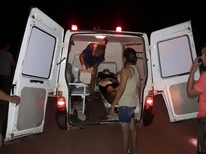 Um casal estava na camionete que caiu na ponte do KM25.