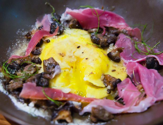 photo of House-Made Ravioli, Mushroom and Parmesan Brodo
