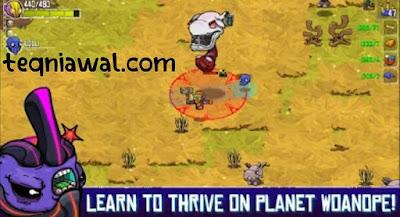 Crashlands - أفضل ألعاب الايفون 2022