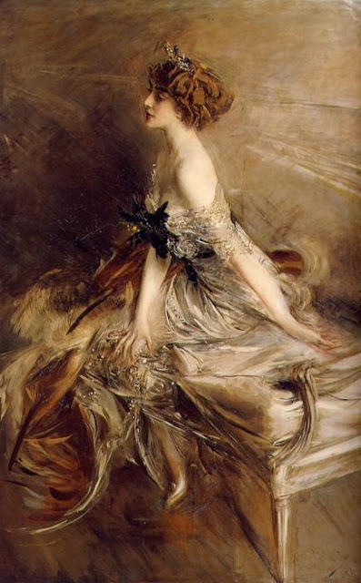 Giovanni Boldini - Portrait of princess Marthe-Lucile Bibesco 1911
