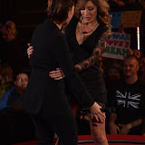 OIC - ENTSIMAGES.COM - Farrah Abraham and Emma Willis at the  Celebrity Big Brother - Friday Live eviction in London 18th September 2015 Photo Mobis Photos/OIC 0203 174 1069