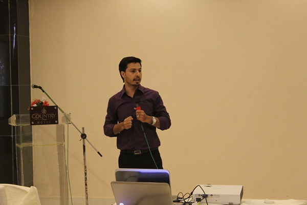 Mohammad Mustafa at  The Mentor Club Conference