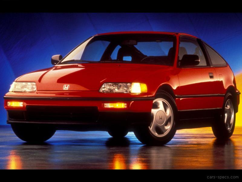 1991 honda civic crx hatchback specifications pictures for Different honda civic models