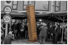 Het monument voor de 850 vervolgden.  Fotograaf: Cyril Wermers