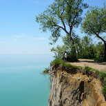 incredible views from the Scarborough Bluffs in Toronto in Toronto, Ontario, Canada