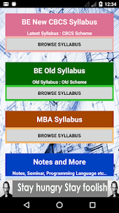 VTU Syllabus- screenshot thumbnail