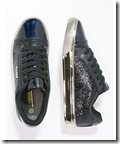 Versace Jeans glitter and metallic trainers