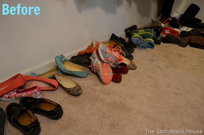 Shoe Mess
